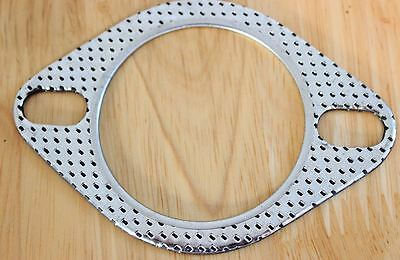 "2.5"" / 64mm Two Pin Performance Exhaust Gasket - Universal - for aftermarket"