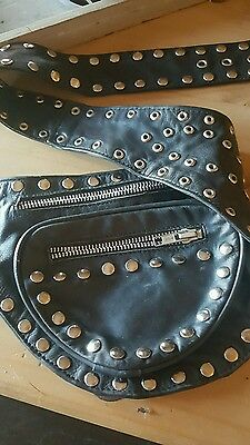 leather fanny pack ( small )