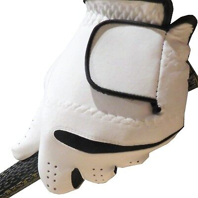 "FULL ""Real"" 100% CABRETTA LEATHER (not just palm) Men's Golf Gloves - All Sizes!"