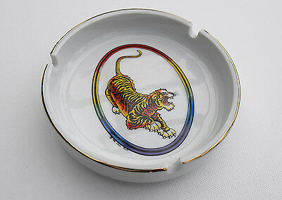 Vintage 1990 Jerry Garcia Guitar TIGER Logo Doug Irwin Design Deadhead Ashtray
