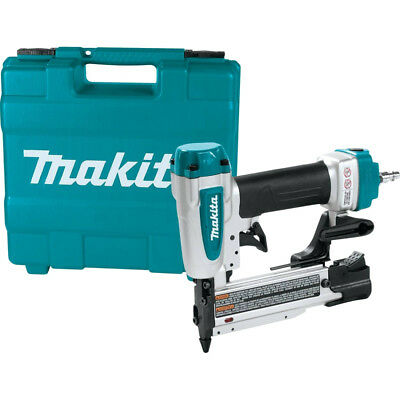 "23 Gauge, 1-3/8"" Pin Nailer w/Case & Coupler Plug Makita AF353 New"