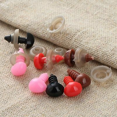 50pcs Plastic Safety Noses for Teddy Bear Puppy Doll Stuffed Animal Toy Crafts