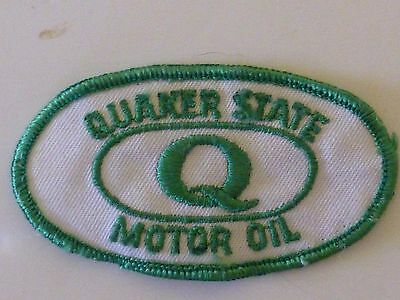 Vintage Quaker State Motor Oil Patch