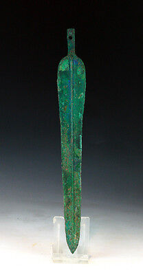 *SC* A CHOICE WESTERN ASIAN TANGED BRONZE DAGGER, 2nd mill BC!