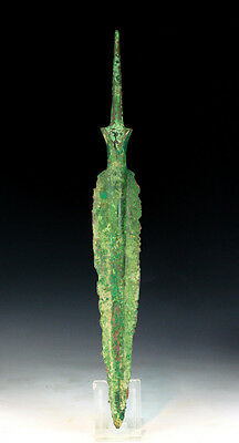*SC* A NICE & LARGE WESTERN ASIAN BRONZE LANCE, 2nd mill BC!!