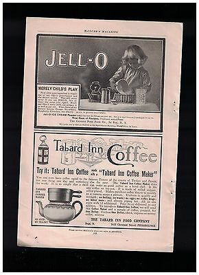 Five Jell-o Jello Ads From 1904 & 1905