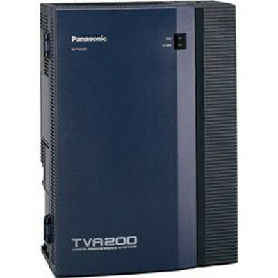 Panasonic KX-TVA200 4 Port VPS Voice Processing System Voicemail REFRB WRNTY