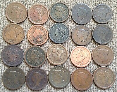 20 low grade Large Cents - Lot 5