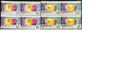 Christmas Island 1995 Year of the Pig Block of 4 Set - CI400/1BK