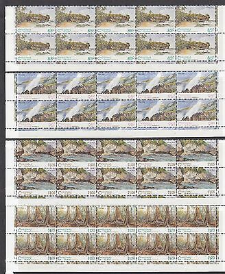 Christmas Island 1993 Scenic Views Block of 10 Set - CI378/81BK10