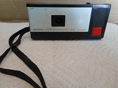 Vintage 1972-1976 Kodak Pocket Instamatic 20 Camera Made In USA w/Case