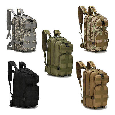 Outdoor Military Tactical Bags Mountaineering Hiking Traveling Camping Backpack