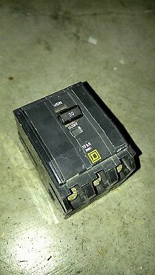 New Square D Qob330 3 Pole 30A 240V Qob Circuit Breaker