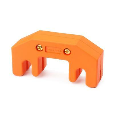 1pc Orange 4-Prong Shaped Rubber Coated Heavy Practice Mute for Cello Viola