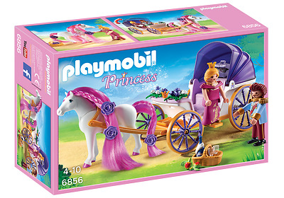 NEW Playmobil Princess 6856 Royal Couple with Carriage