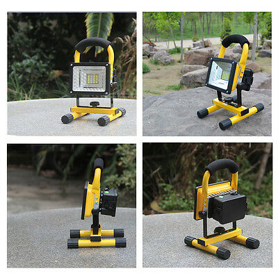 Portable 30W LED Work Lamp Camping Light Flood Light Fishing USB Rechargeable
