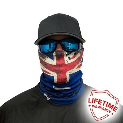 MOTORCYCLE FACE MASK - AUSTRALIAN FLAG - (Moto, Fishing, Paintball)