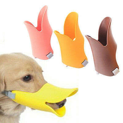 Dog Anti Bite Duck Mouth Shape Dog Mouth Cover Biteproof Pet Muzzle Healthy
