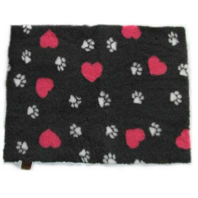 Original Vetbed™ Isobed SL anthrazit hearts & paws rutschfest