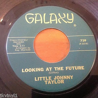 Little Johnny Taylor-Looking At The Future-Galaxy 739. Vg-+