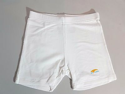 INSIDE Damen Tennis Sport Tight  Shorts   Gr. XS -L   weiss Neu