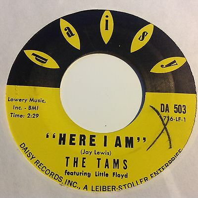 Tams-My Baby Loves Me(You)/here I Am- Daisy. Da 503. Vg+