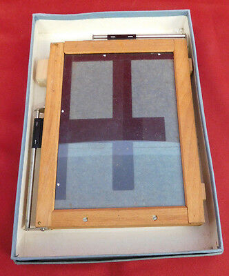 """Kodak Auto Mask Printing Frame for up to 4x5"""" and smaller Contact Prints-VINTAGE"""