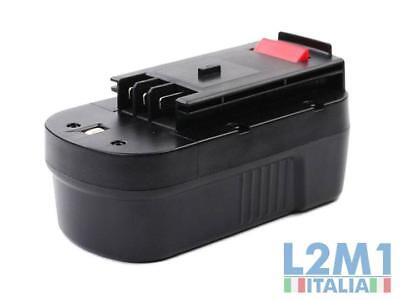 Batteria NI-CD 18V 1.3A per BLACK & DECKER HP188F3B, HP188F3K