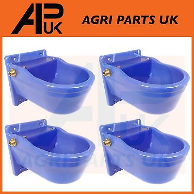 4 QUALITY Automatic Water Bowl Trough Horse Cow Dog Drink Pony Sheep Goat Cattle