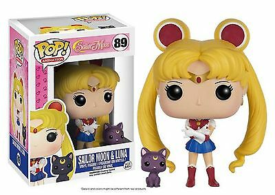 Funko Pop! Animation Sailor Moon & Luna Vinyl Figure Toy #89