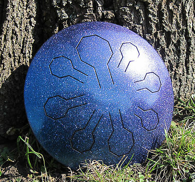 """Mini-VibeDrum – StarDust – 8 Notes – 25.5 cm  – In our """"Freya"""" Scale"""