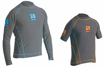 LONG/SHORT SLEEVE THERMAL Wetsuit Rash Vest Canoe kayak SUP Sail Swim Surf Top