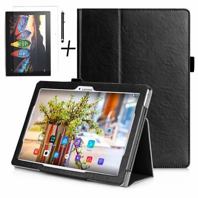Luxury Case Cover, Tempered Glass & Stylus For Lenovo Tab 3 / E10 10.1 inch 16Gb