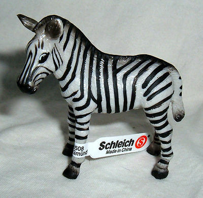 Collectable Schleich Zebra New with tag Made in China