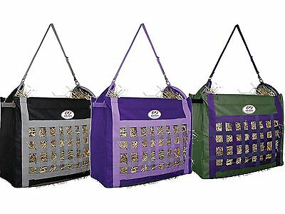 Top Load Hay Bag Black Slow Feed Tote Stable Horse Derby Originals Barn New