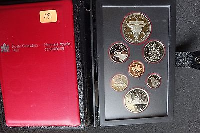1982 Canada 7 pc. Double Dollar Proof Set