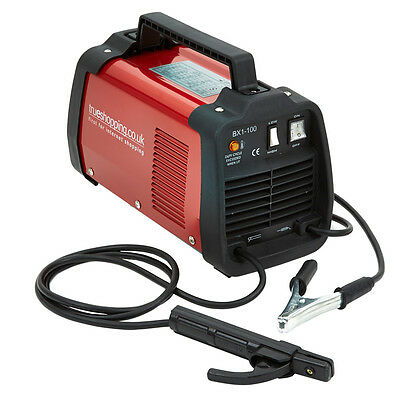 100Amp Portable Arc Welder Welding Machine with Accessory Kit Turbo Fan Cooled