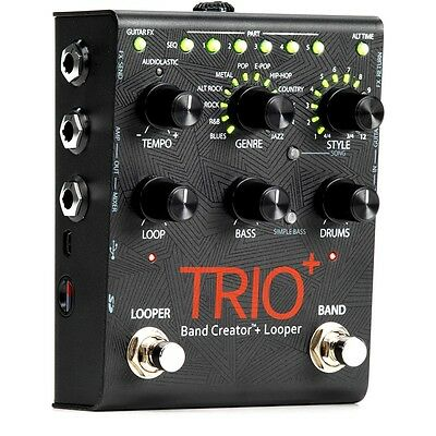 Digitech Trio + Plus Band Creator Looper Pedal Loop Machine Guitar Effects