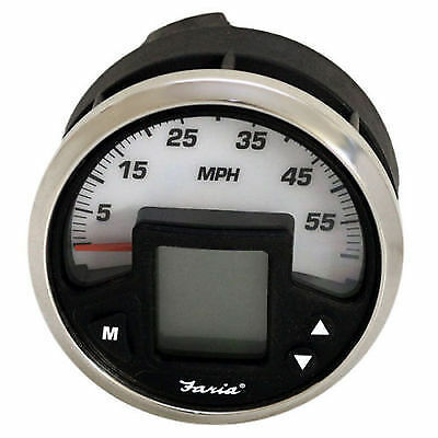 Faria IG1304L MG2000 Mercury multi function gauge speedometer 60 mph 4''