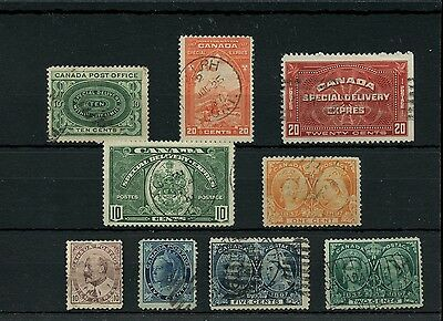 Nice used selection Jubilees, Spe Delivery 10c Edward etc. Canada used