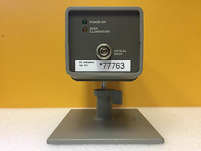 HP 83410C-012 300 kHz to 3 GHz 1300/1550 nm, Lightwave Source + Stand. Tested!