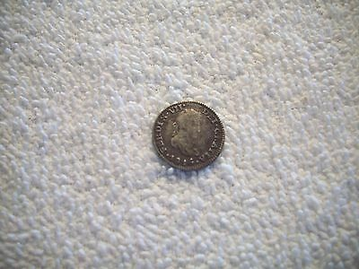 1816 JJ Mexico Spanish Colony Ferdinand VII 1/2 Real Silver Coin