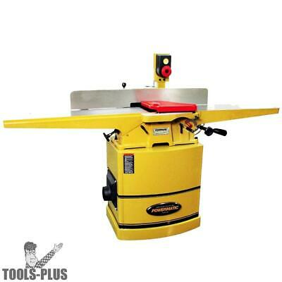 """Model 60HH 2HP 1PH 230V 8"""" Jointer + Helical Cutter Head Powermatic 1610086K New"""