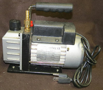 Vacuum Pump 1 Stage 1/3 HP 3 CFM