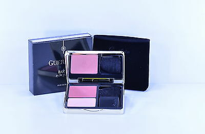 New Guerlain Blush Duo Rose Aux Joues Chic Pink 02