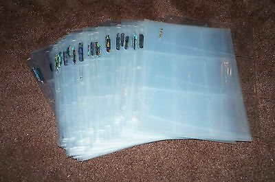 Sports Card 9 Pocket Sheets...lot Of 50