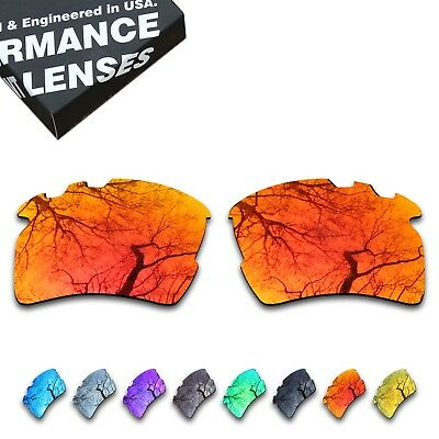 T.A.N Polarized Lenses Replacement for-Oakley Flak 2.0 XL Vented-Multiple Option