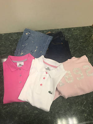 Girls Sz 12 Clothing Lot  Jeans Tee Hoodie Ralph Lauren Abercrombie Lacoste