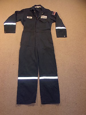 #2911, Men's Unlined Workrite HRC 2 Flame Resistant Coveralls, Medium Reg, 42-R