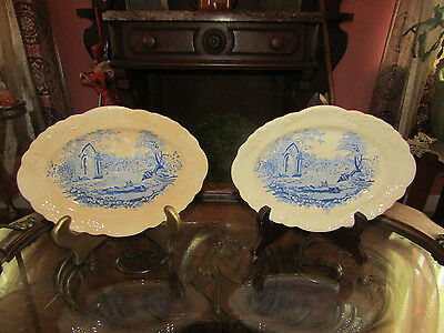 A Pair of *English Abbey* Small Platters!